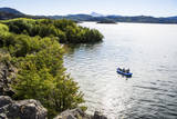 Fly Fishing Remote Lake in Patagonia  Argentina