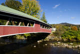 USA  New Hampshire  Jackson Covered Bridge in Wentworth Country Club