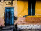 A Doorway in the City of Mysore  India