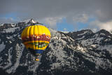 Grand Tetons  Wy: Enjoy an Early Morning Hot Air Balloon Ride the Jackson Hole Wyoming