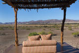 Namibia Scenic Outdoor Lounge at Exclusive Okahirongo Elephant Lodge