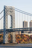 USA  New Jersey  Hudson River Basin  View of George Washington Bridge