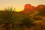 Usa Texas  Guadalupe Mountain El Capitan Prominence
