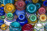 Ash Trays for Sale in the Souk  Medina  Marrakech  Morocco