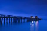 USA  Florida  Gulf Coast  Naples  Naples Pier  Dawn