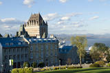 Canada  Quebec  Quebec City the Famous Chateau Frontenac Hotel