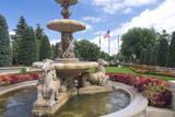 Broadmoor Resort's Entrance to Garden  Colorado Springs  Colorado  USA
