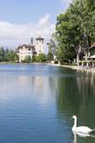 USA  Colorado  Colorado Springs Broadmoor Resort's Cheyenne Lake