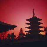 Tokyo  AsakUSA  Asakusa Kannon Temple and Pagoda