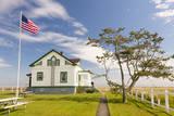 USA  Washington Dungeness Spit Lighthouse Keepers Cottage
