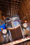 North America  USA  Georgia  Old Rusty Truck on a Farm