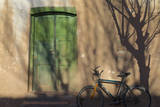 Argentina  Salta  Valles Calchaquies Shadowed Bike by Green Door