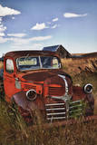 USA  Washington Rusting Dodge Truck at an Abandoned Farm