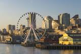 USA  Washington  Seattle Seattle Great Wheel at Pier 57