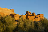 Morocco  Kasbah Ait Ben Addou the Kasbah Is Surrounded by an Oasis