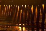 USA  Tybee Island  Tybee Pier in Morning Light
