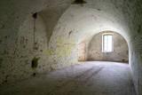 Italy  Mantua-Mantova  Forte Di Pietole Interior Room