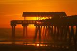 USA  Tybee Island  Tybee Pier in the Morning Light