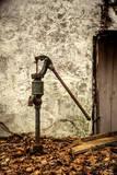 New Jersey  Hunterdon County  Cokesbury  Old Hand Pump