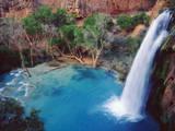 USA  Arizona  Havasupai Reservation Havasu Falls in the Grand Canyon