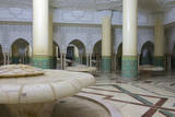 Morocco  Casablanca the Great Mosque the Ablutions Room
