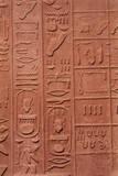 Egypt  History Temple of Karnak  Egyptian Hieroglyphs