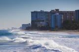 USA  Florida  Pompano Beach  Beach View
