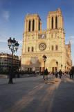 France  Paris Notre-Dame  Cathedral Place De La Parvis