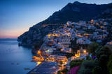 Amalfi Coast of the Hillside Town of Positano  Italy