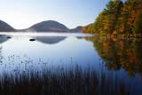 USA  Maine  Morning Fog at Eagle Lake