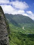 Koolau Mountains on Windward Oahu