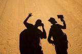 Photographers' Shadows  Morodova  Madagascar