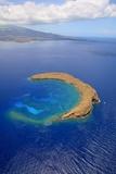 Molokini Crater Off the Coast of Maui