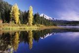 Clear Autumn Day at Trillium Lake
