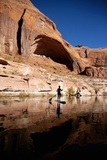 Stand-Up Paddleboarding on Lake Powell  Utah