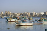 Fishing Boats in Alexandria Harbor