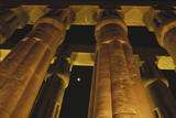Egypt  Luxor Egypt  Column of Amenophis Iii at Luxor Temple