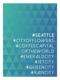 Hashtag City Seattle