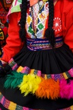 Native Peruvian Dancer and Dress