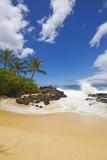 Makena Cove  also known as Secret Beach and Wedding Beach  Maui  Hawaii
