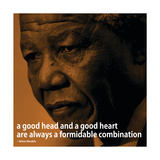 Nelson Mandela Quote iNspire 2 Motivational Poster