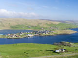 Hellister on the Shore of Weisdale Voe  Shetland Mainland  Scotland