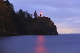 Sunrise Cape Disapointment Lighthouse  Washington State  Pacific Northwest