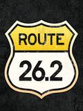 Route 262 Marathon Sports Poster