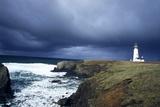 Yaquina Head Lighthouse at Dusk