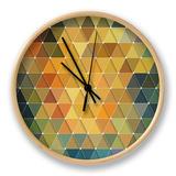 Triangles Pattern Horloge par Maksim Krasnov