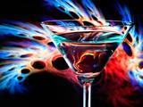 The Bar at the End of the Universe 1 Aluminium par Ursula Abresch