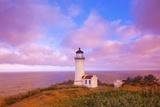 Sunrise North Head Lighthouse  Washington State  Pacific Ocean  Pacific Northwest