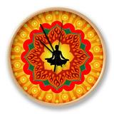Yoga - Meditation Horloge par Mahesh_patil