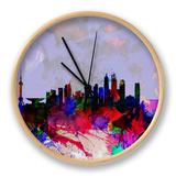 Shanghai Watercolor Skyline